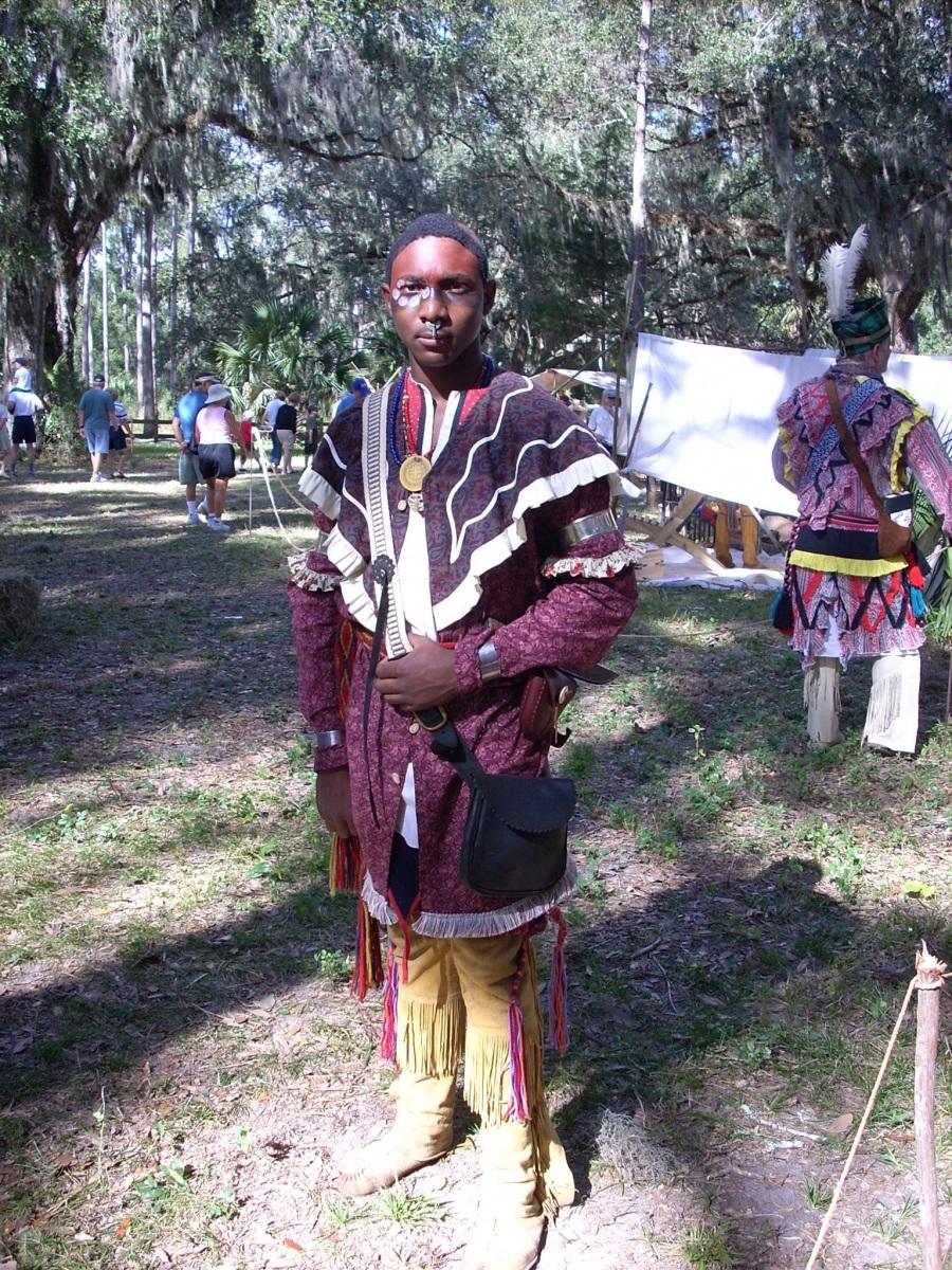 black-seminole-reenactment-dade-battle