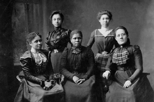 women power Black suffergets three